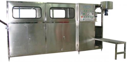 Триблок розлива питьевой воды в 19 литровую бутыль 150 бут/час QGF-150